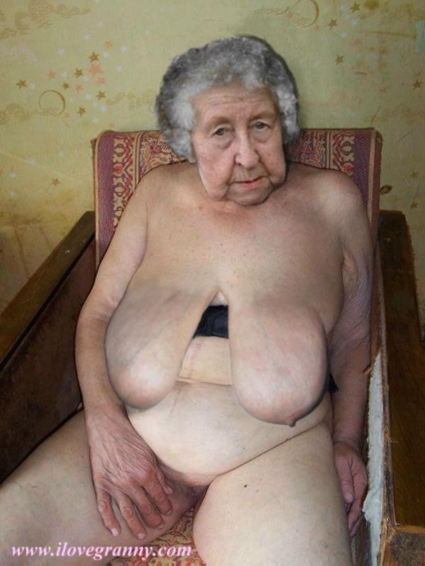 old granny naked fat smoder Very